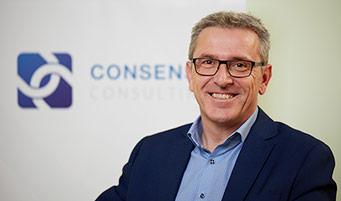 CONSENSE Team — Portrait von Bmst. Ing. Prok. Claus Camerloher