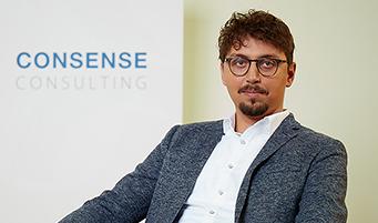 CONSENSE Team — Portrait von Matthias Lex